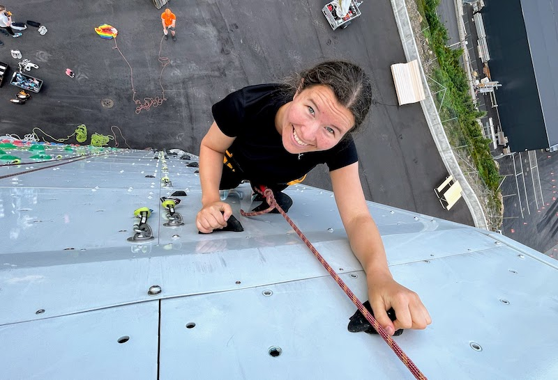 Prøv guidet klatring på OVER – Bestigning av tårnet!